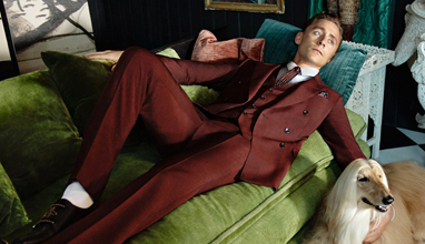 Tom Hiddleston - the new face of Gucci suits