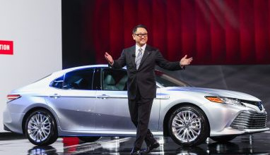 Toyota President Akio Toyoda Style