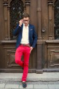 Photo 7 from album Pinterest Inspiration - How to wear colourful pants