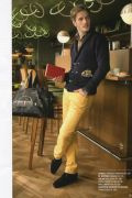 Photo 4 from album Pinterest Inspiration - How to wear colourful pants