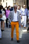 Photo 5 from album Pinterest Inspiration - How to wear colourful pants
