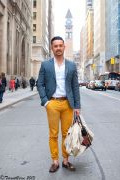 Photo 11 from album Pinterest Inspiration - How to wear colourful pants