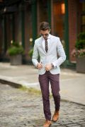 Photo 16 from album Pinterest Inspiration - How to wear colourful pants