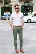 Photo 18 from album Pinterest Inspiration - How to wear colourful pants