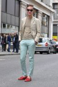 Photo 23 from album Pinterest Inspiration - How to wear colourful pants