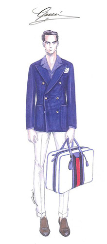 Gucci with new made-to-measure collection for Spring/Summer 2013