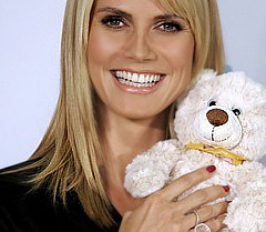 Heidi Klum is being turned into a Barbie doll
