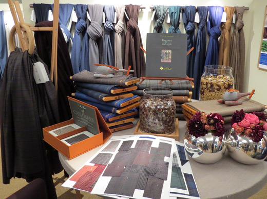 Loro Piana Men's Fabrics Fall/Winter 2015: Wool takes center stage