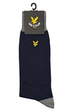 black socks from Lyle and Scott