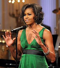 Michelle Obama praised fashion as an American art form
