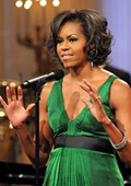 Michelle Obama praised fashion as an