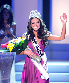 Miss USA 2012 is the Rhode Island cellist Olivia Culpo