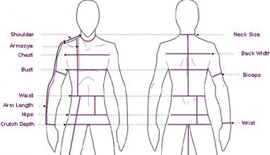 How to take your measurements for ordering a made-to-measure men's suit