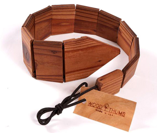 There are already wooden ties for men